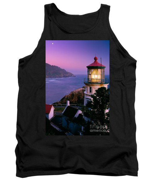 Moon Over Heceta Head Tank Top
