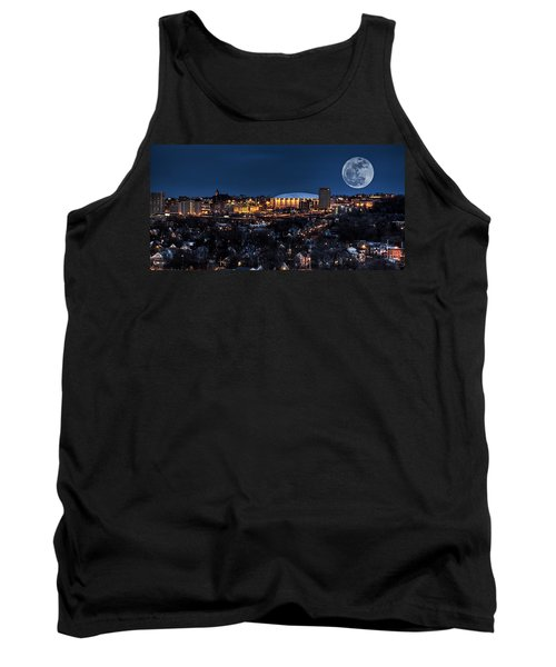 Moon Over The Carrier Dome Tank Top by Everet Regal