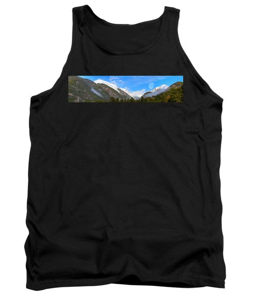 Moon Over The Rockies Tank Top