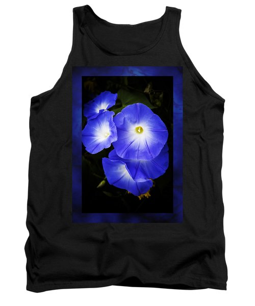 Moonglow On Blue Tank Top