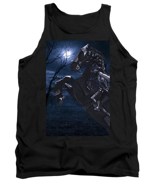Moonlit Warrior Tank Top by Wes and Dotty Weber