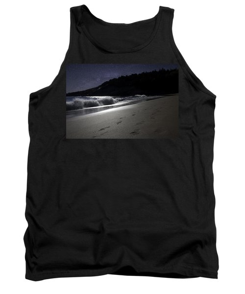 Moonshine Beach Tank Top by Brent L Ander