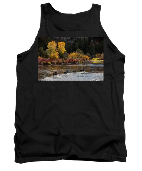 Moose Crossing Tank Top