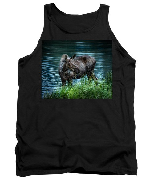 Moose In The Water Tank Top