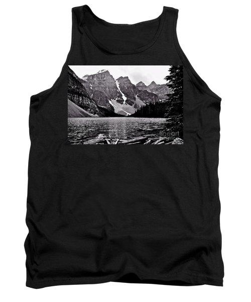 Moraine Lake Tank Top by Linda Bianic