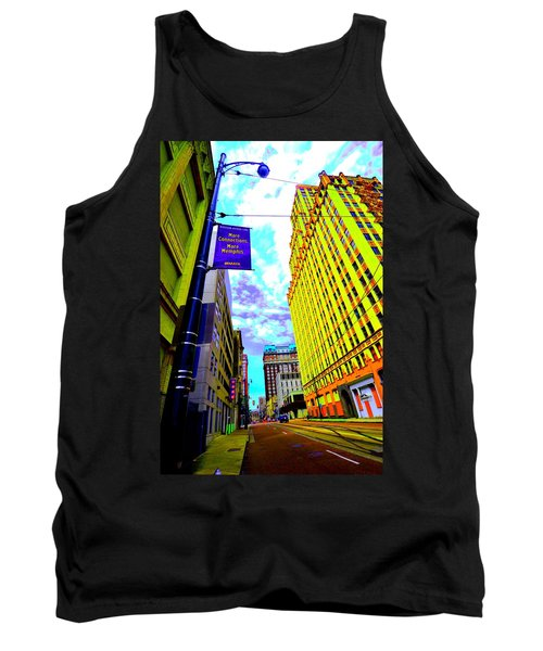 More Memphis On Monroe Tank Top