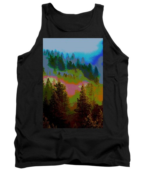 Morning Arrives In The Pacific Northwest Tank Top