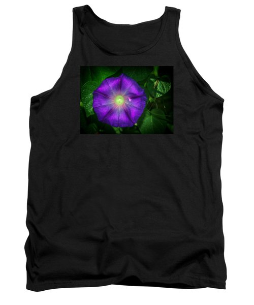 Tank Top featuring the photograph Morning Glory by Elaine Malott