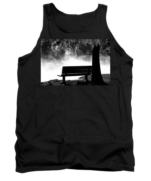 Morning Mist At The Spring Tank Top