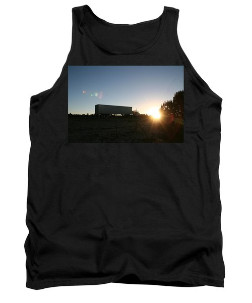 Tank Top featuring the photograph Morning Run by David S Reynolds