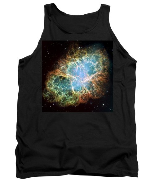 Most Detailed Image Of The Crab Nebula Tank Top by Adam Romanowicz