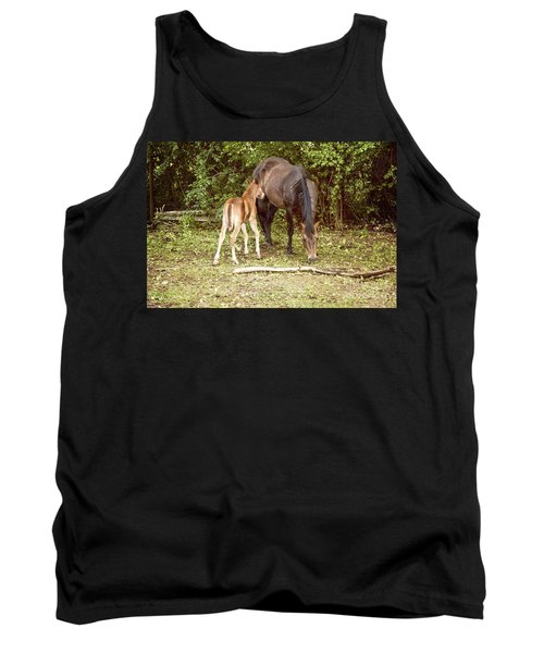 Mother And Foal Tank Top
