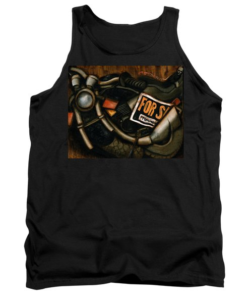 Used Motorcycle For Sale Art Print Tank Top
