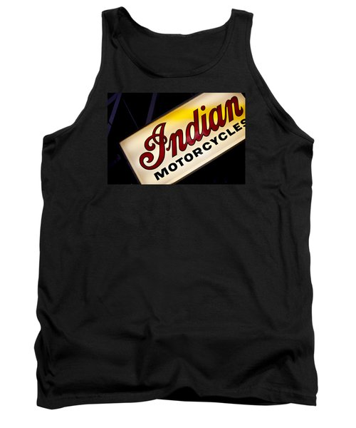 Motorcycle Sign Tank Top by Art Block Collections