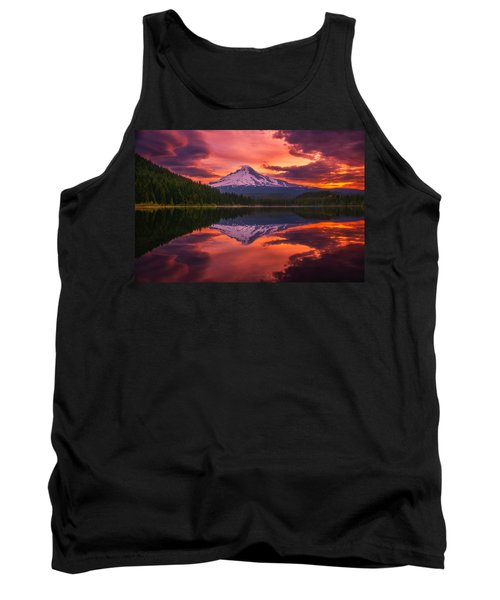 Mount Hood Sunrise Tank Top