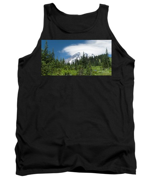 Mount Rainier Forest Tank Top