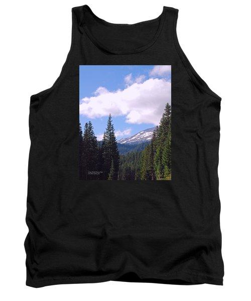 Mount Rainier National Park Tank Top by Connie Fox