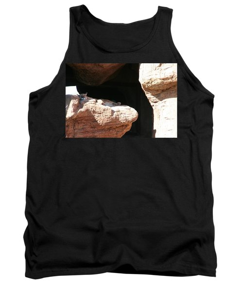 Tank Top featuring the photograph Mountain Lion by David S Reynolds