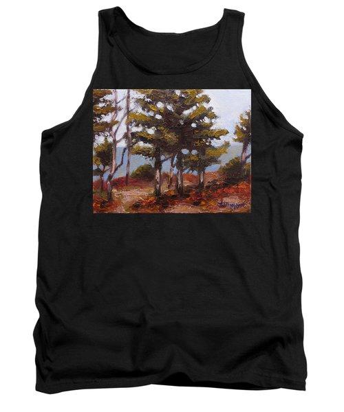 Mountain Top Pines Tank Top by Jason Williamson