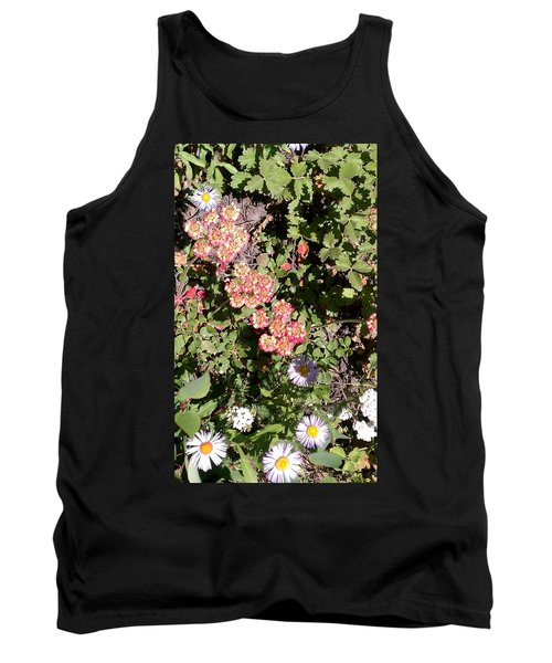 Tank Top featuring the photograph Mountain Wildflowers by Fortunate Findings Shirley Dickerson