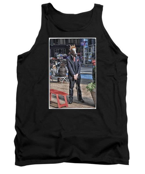 Tank Top featuring the photograph Mr. Ed by Mike Martin