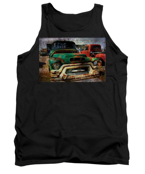 Tank Top featuring the photograph Mr Green 4 Sale by Toni Hopper
