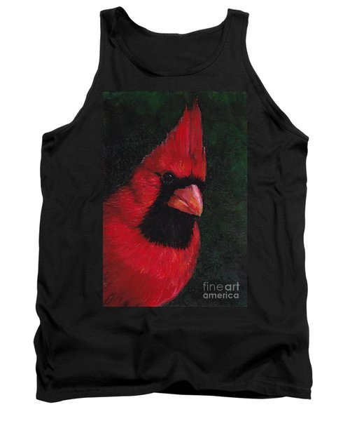 Mr Red Cardinal Tank Top