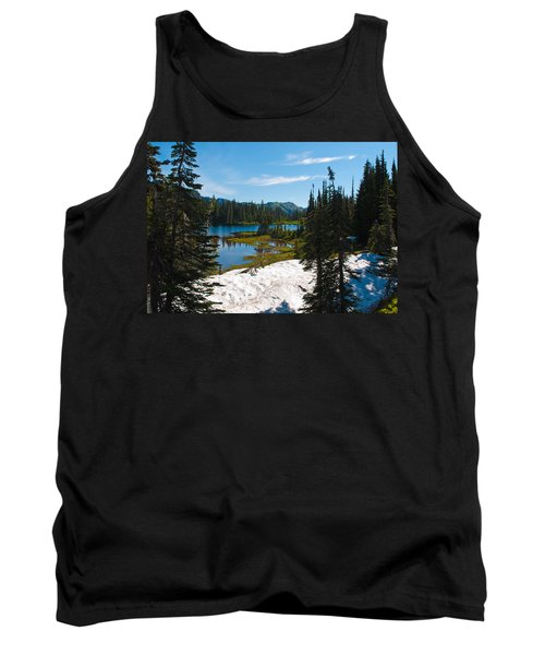 Tank Top featuring the photograph Mt. Rainier Wilderness by Tikvah's Hope