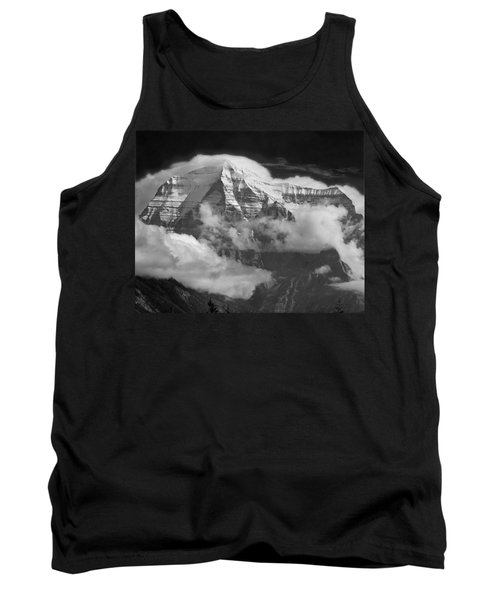 102496-mt. Robson Wreathed In Clouds Tank Top