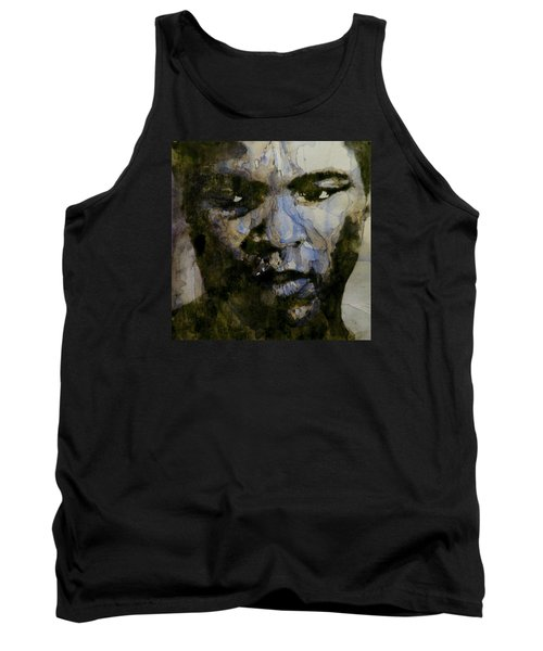Muhammad Ali  A Change Is Gonna Come Tank Top by Paul Lovering