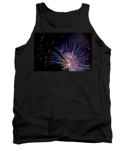 Tank Top featuring the photograph Multicolor Explosion by Suzanne Luft