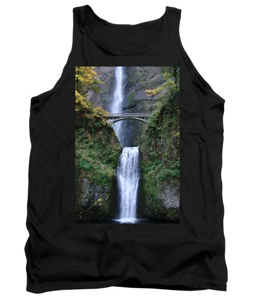 Tank Top featuring the photograph Multnomah Falls by Athena Mckinzie