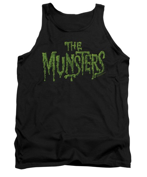 Munsters - Distress Logo Tank Top