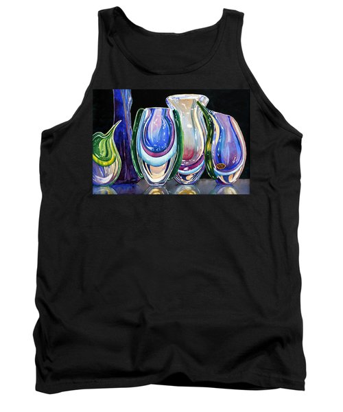 Murano Crystal Tank Top by Roger Rockefeller