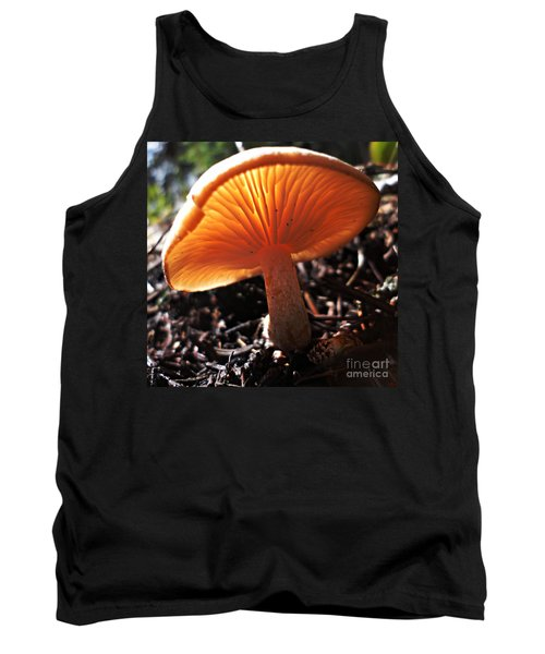 Tank Top featuring the photograph Mushroom by Janice Westerberg
