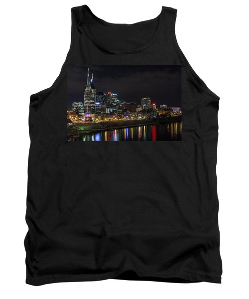 Music And Lights Tank Top