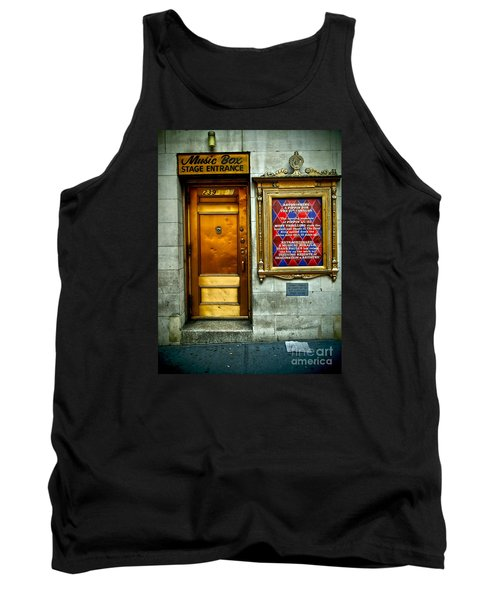 Music Box Stage Entrance Tank Top