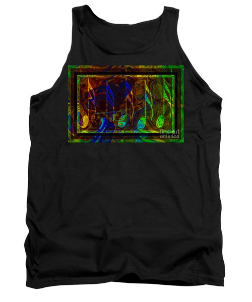 Music Is Magical Abstract Healing Art Tank Top