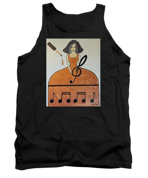 Music Lover Tank Top by Jasna Gopic