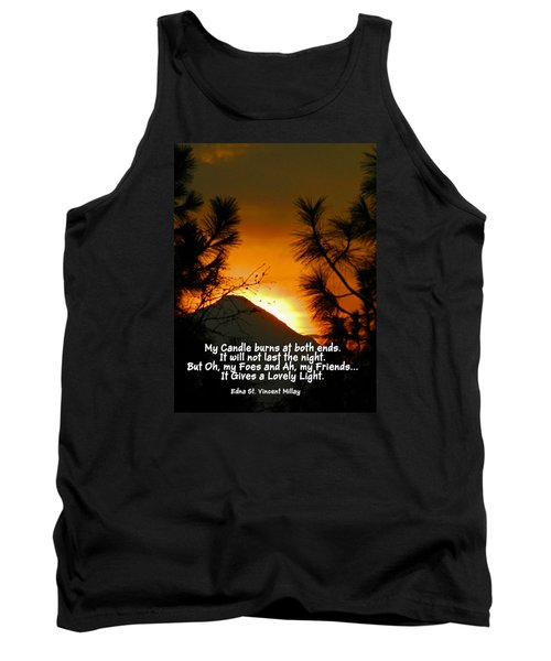 My Candle Tank Top