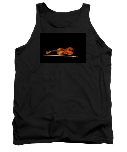 My Old Fiddle And Bow Tank Top