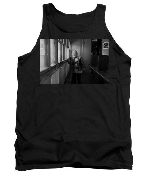 Tank Top featuring the photograph My Shadow by Jeremy Rhoades