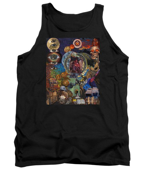 Mystery Of The Human Heart Tank Top