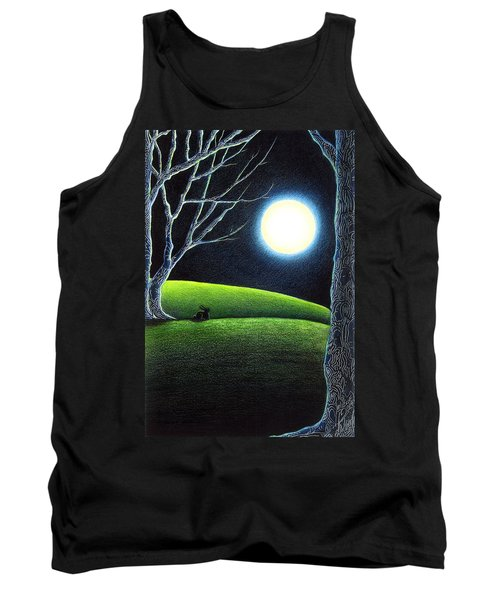 Mystery's Silence And Wonder's Patience Tank Top