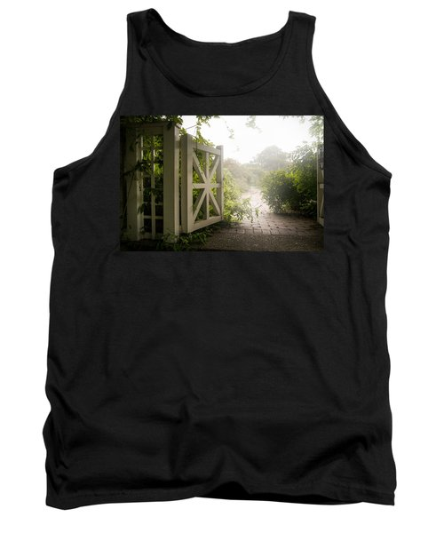 Tank Top featuring the photograph Mystic Garden - A Wonderful And Magical Place by Gary Heller