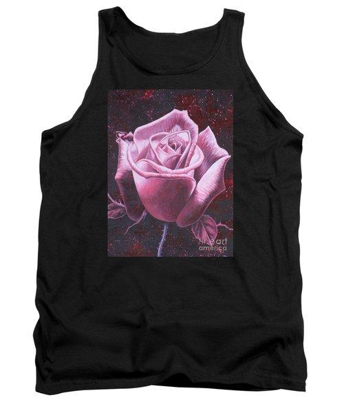 Mystic Rose Tank Top by Vivien Rhyan