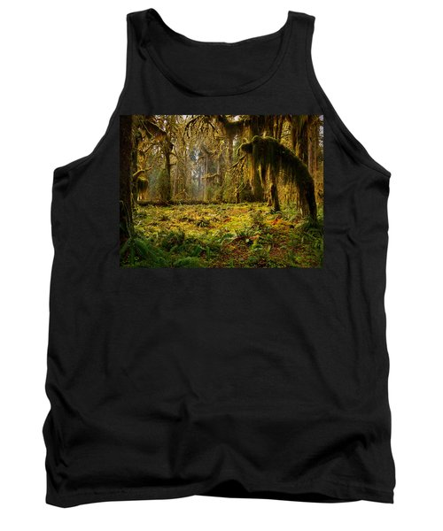 Mystical Forest Tank Top by Leland D Howard