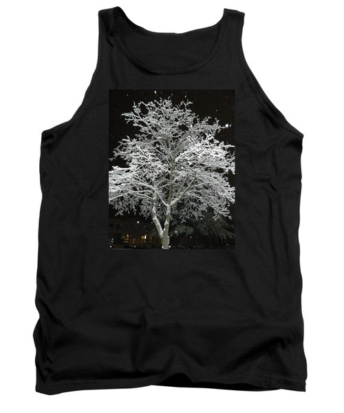 Mystical Winter Beauty Tank Top by Emmy Marie Vickers
