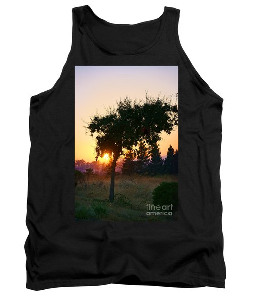 Tank Top featuring the photograph Napa Moment by Ellen Cotton
