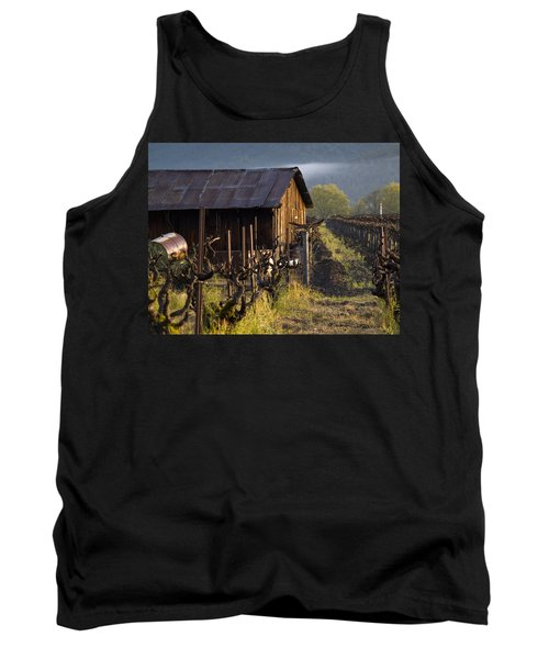 Napa Morning Tank Top by Bill Gallagher